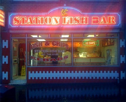 Running a takeaway fish & chip shop