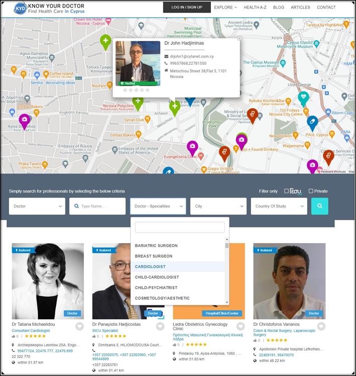 online medical platform find - 10